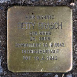 Stolperstein Betty Brasch
