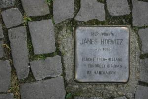 Stolperstein für James Howitz. Copyright: MTS