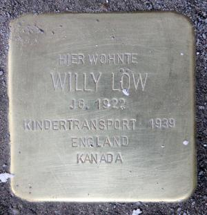 Stolperstein Willy Löw