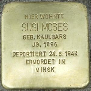Stolperstein Susi Moses